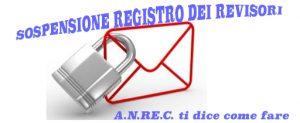Registro revisori: cosa debbono fare i sospesi?